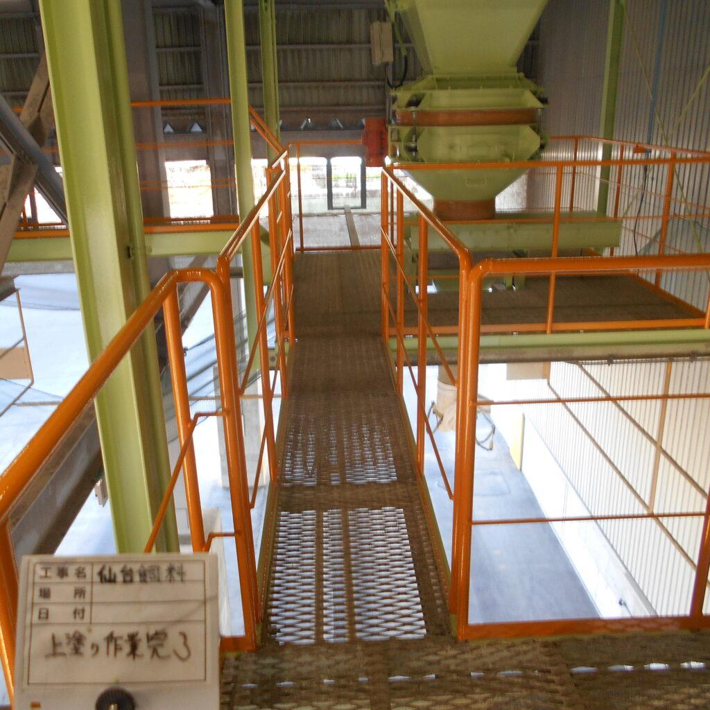 仙台市 工場塗装工事完了